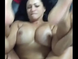 Pakistani Aunty getting fucked hard