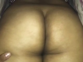 Playing with her Phat Desi Booty