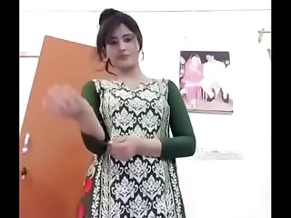 Indian hot stripping in front of Cam